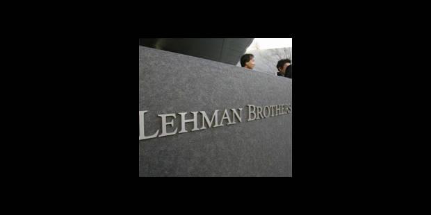 Les Belges réclament 703 millions de dollars à Lehman - La DH