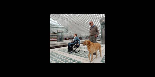 La gare des Guillemins est-elle adaptée aux PMR ? - La DH