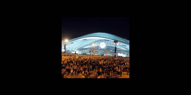 Liège a inauguré sa gare - La DH
