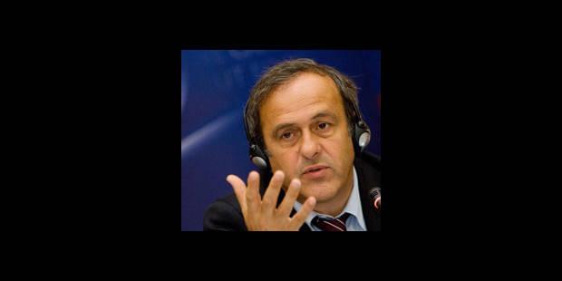 Les grands travaux de Platini - La DH