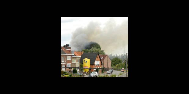 Incendie dans une ancienne société de cosmétiques à Haren - La DH