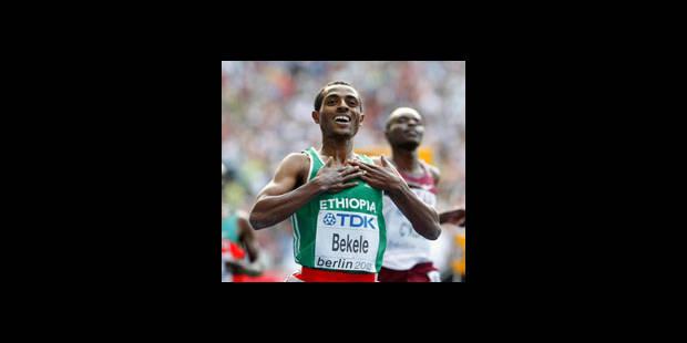 Après le 10.000m, Bekele remporte le 5000 m - La DH