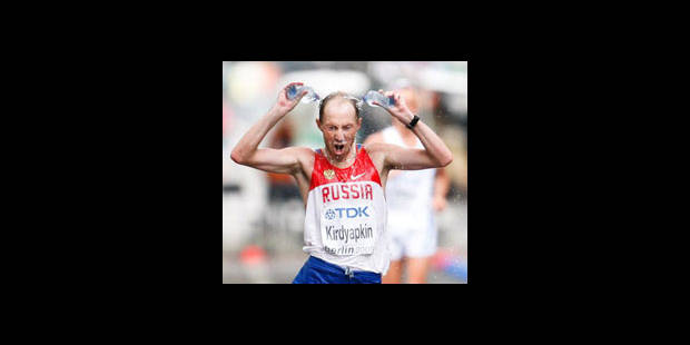 Mondiaux: le Russe Kirdyapkin remporte le 50 km marche - La DH