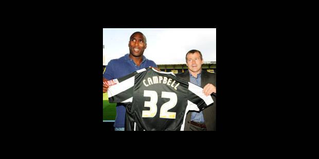 Sol Campbell rejoint Sven Goran Eriksson à Notts County (D4) - La DH