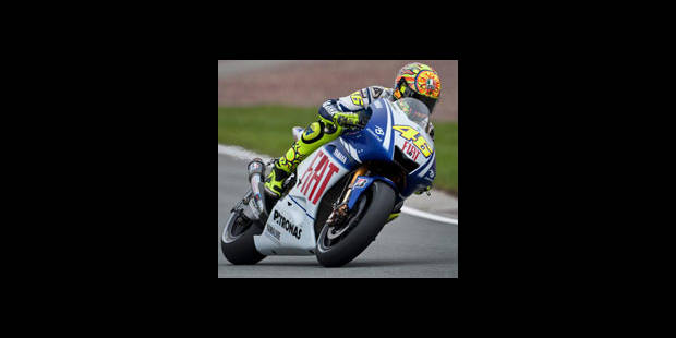 MotoGP - Grand Prix d'Allemagne: Rossi en position de pointe