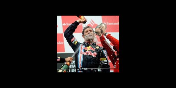 Mark Webber entre enfin dans l'histoire
