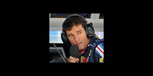 Essais libres/1re séance: Webber meilleur temps