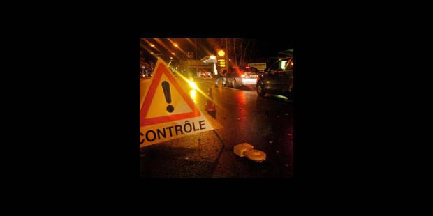 Contrôles routiers à Bruxelles : retrait de 59 permis de conduire - La DH