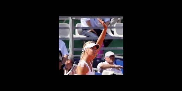 WTA/Varsovie: Sharapova remporte son 2e match - La DH