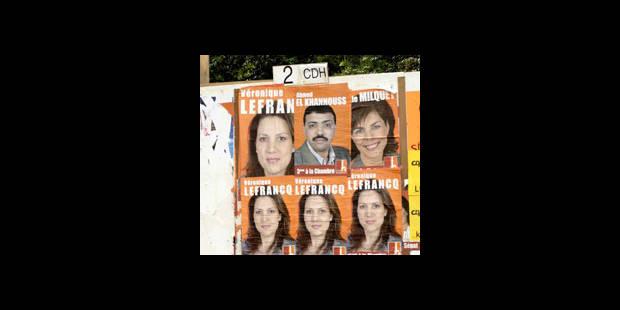 Affligem surcollera les affiches électorales francophones - La DH