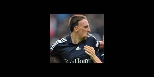 Bundesliga/29e j.: Ribéry voit rouge pour la première fois - La DH