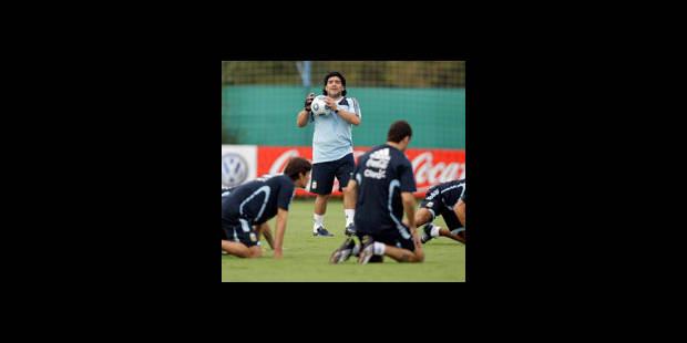 Mondial 2010/Qualifs : Maradona et l'Argentine en vedette - La DH