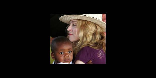 Madonna au Malawi pour une seconde adoption