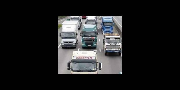 Manifestation européenne de transporteurs routiers lundi à Bruxelles - La DH