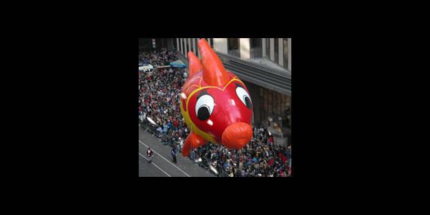 Balloon's Day Parade : 30.000 spectateurs dans le centre de Bruxelles - La DH