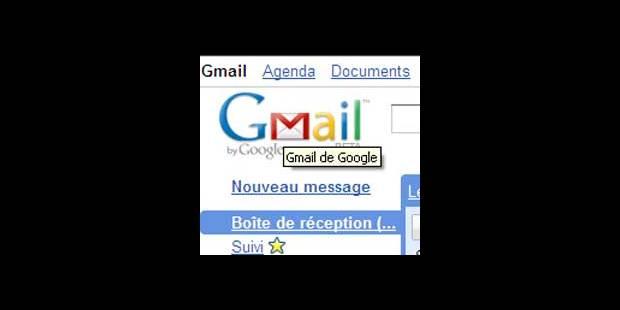 Gmail dans les choux - La DH