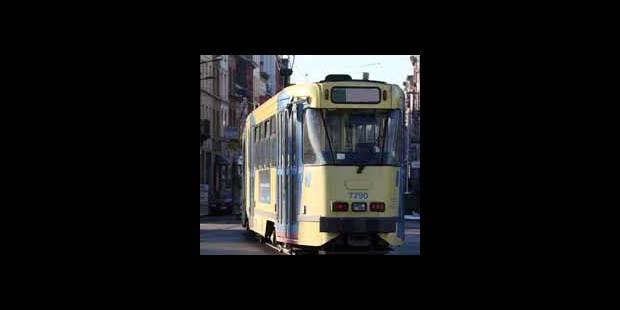Tram 25 bloqué à Meiser à Bruxelles - La DH