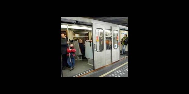 Bruxelles: une rame de métro défectueuse provoque des pertubations - La DH