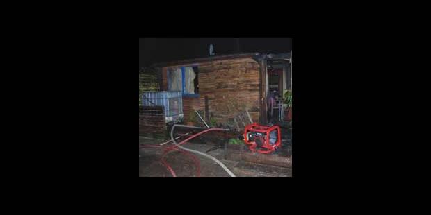 Nouvel incendie à Annevoie - La DH