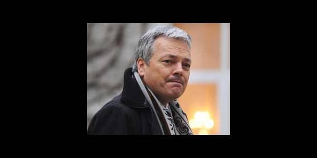 Reynders veut un exécutif qui termine la législature - La DH