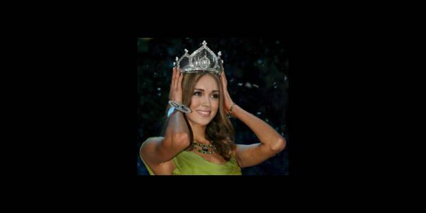 Une Russe sacrée Miss Monde 2008