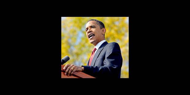 Obama interrompt sa campagne - La DH