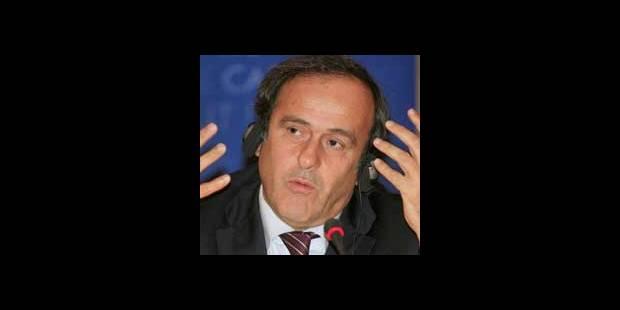 Platini revient sur son différend avec Arsène Wenger - La DH