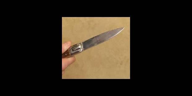 Agressé au couteau par un homme de 62 ans - La DH