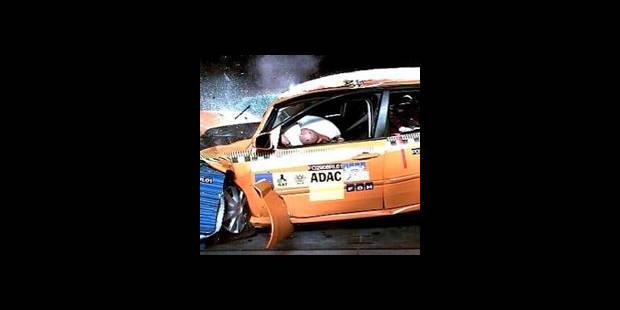 Crash-test à 80 km/h : danger - La DH