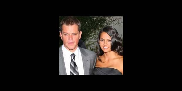 Matt Damon à nouveau papa - La DH