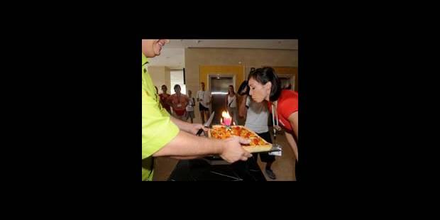 Une tarte aux légumes pour les 30 ans de Kim Gevaert