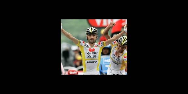 Tour de France: victoire de Piepoli, Cadel Evans en jaune - La DH