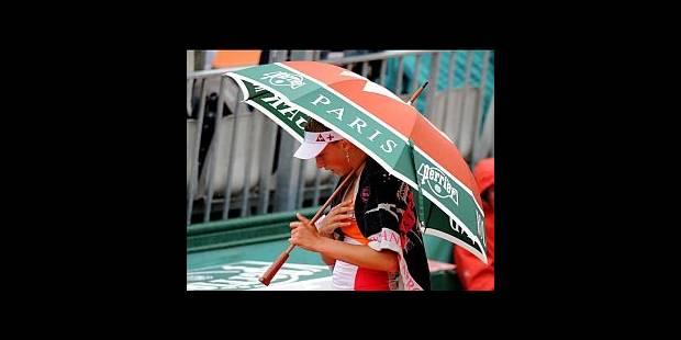 La pluie interrompt les matches des Belges - La DH