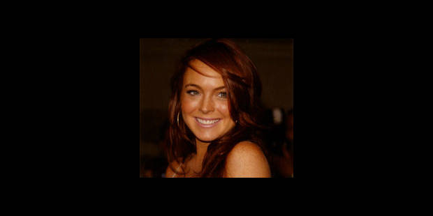 Lindsay Lohan framboise d'or - La DH