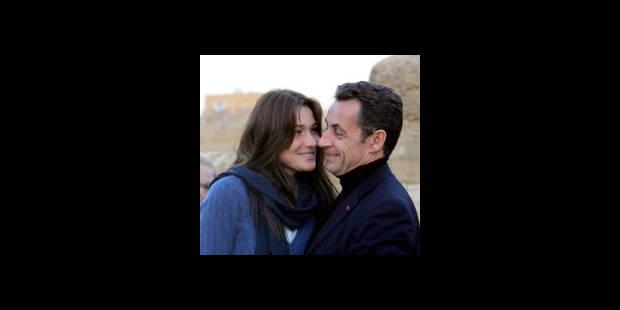 Sarkozy a épousé Carla ce matin - La DH