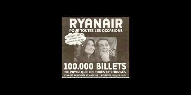 L'Élysée envisage d'assigner Ryanair en justice - La DH
