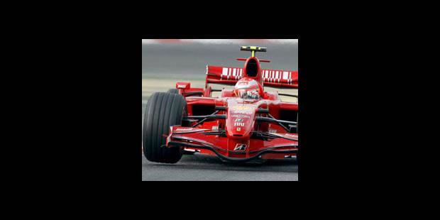 Michael Schumacher est toujours le plus rapide!