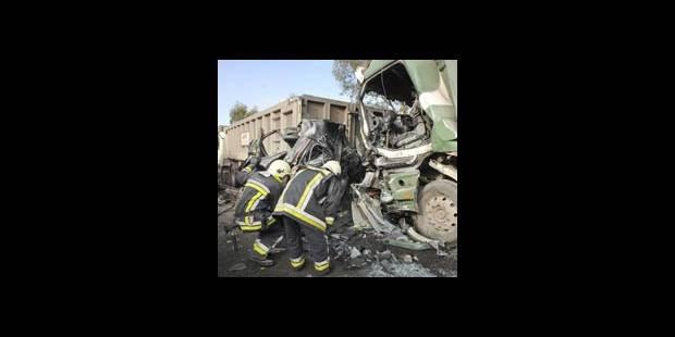 Trois morts sur l'E42 ce mardi - La DH