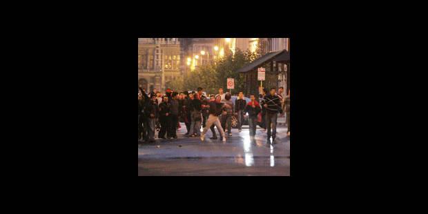 Graves émeutes turques à  Bruxelles