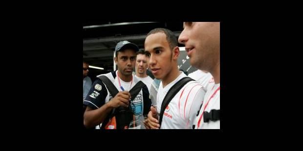 """Hamilton: """"je veux gagner le titre sur la piste"""" - La DH"""