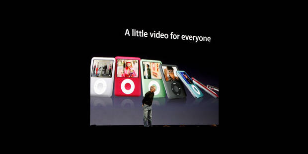 Les iPod nouveaux arrivent - La DH