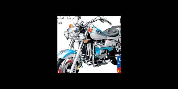 Une 125cc chez Carrefour