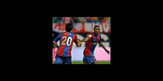 """Eto'o: """"Ronnie et moi, nous restons au Barça"""""""