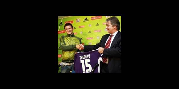 Anderlecht présente Théréau - La DH