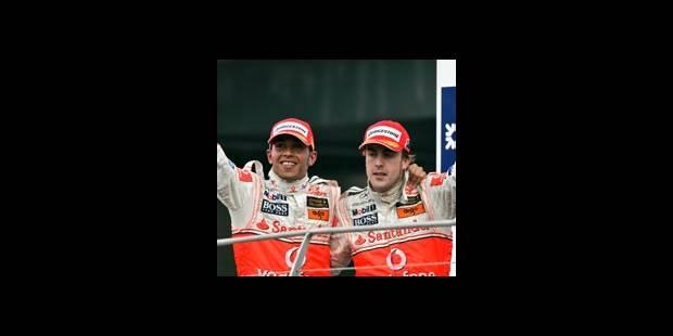 Hamilton et Alonso en lutte pour le titre - La DH