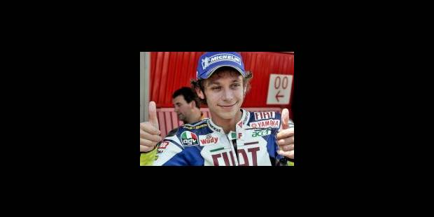MotoGP- Rossi comme chez lui