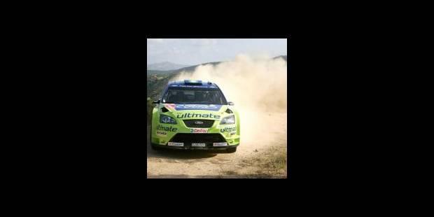 """Rallye de Sardaigne - """"Couper l'appétit à Loeb"""""""