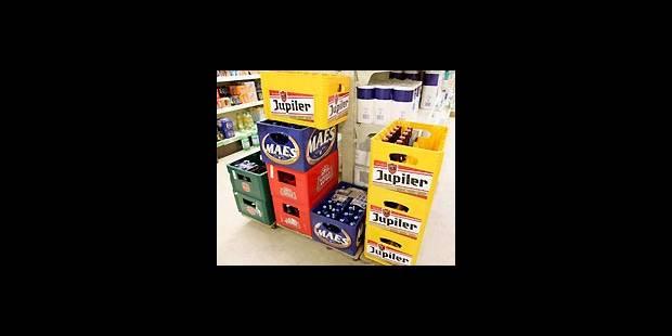 Bac de bière : +1 % en avril - La DH