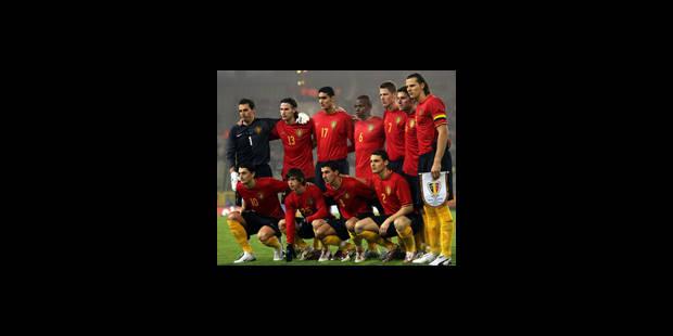 Les Diables Rouges contre le Portugal
