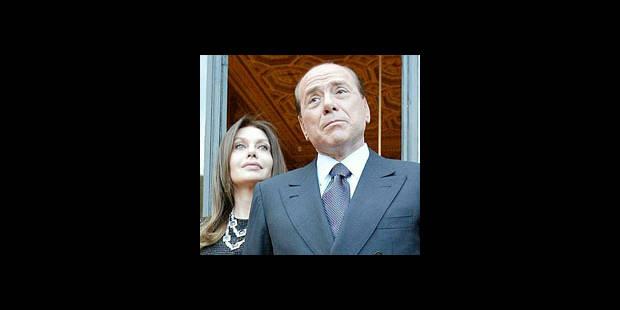 Berlusconi s'excuse publiquement auprès de sa femme - La DH